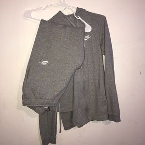 Nike Grey Sweater & Sweatpants